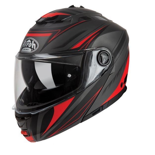 Immagine di CASCO PHANTOM-S TRIPLO RED AIROH
