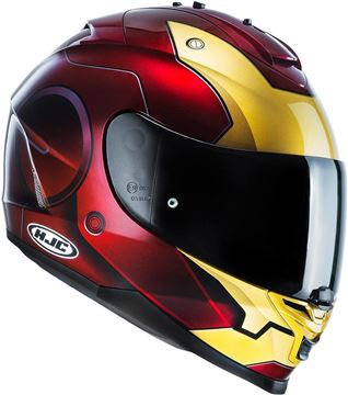 CASCO IS-17 IRON MAN HJC
