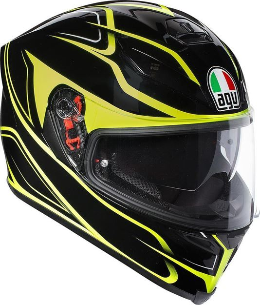 Immagine di CASCO K-5 S AGV MAGNITUDE BLACK/YELLOW AGV