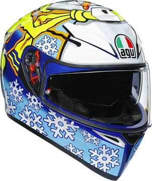 Immagine di CASCO K3 SV ROSSI WINTER TEST 2016 AGV
