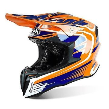 Immagine di CASCO TWIST MIX ORANGE GLOSS AIROH