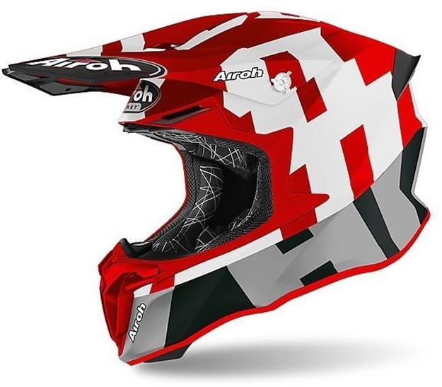 Immagine di CASCO TWIST 2.0 FRAME RED MATT  AIROH