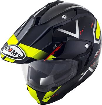 Immagine di CASCO SY MX TOURER ROAD YELLOW SUOMY