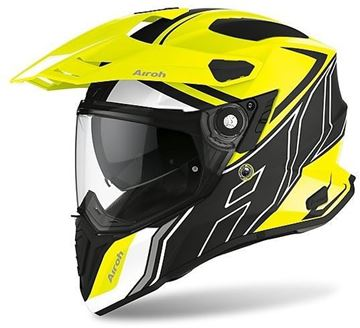 Immagine di CASCO COMMANDER DUO YELLOW MATT AIROH