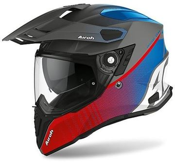 Immagine di CASCO COMMANDER PROGRESS BLUE RED AIROH