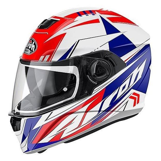 Immagine di CASCO STORM BATTLE RED GLOSS AIROH