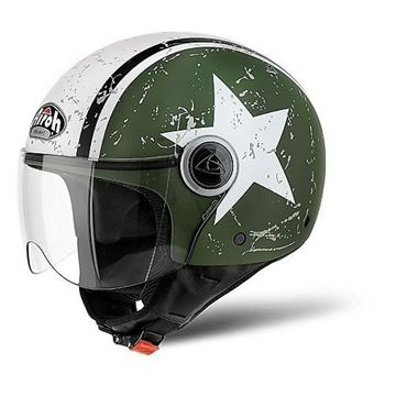 Immagine di CASCO COMPACT PRO SHIELD GREEN AIROH