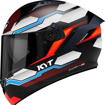 Immagine di CASCO NF-R HEXAGON ORANGE KYT