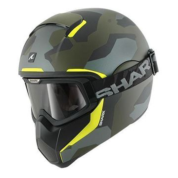 Immagine di CASCO VANCORE WIPEOUT GREEN OLIVE SHARK